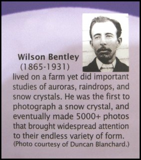 How some snow-crystal centers retain their droplet origin
